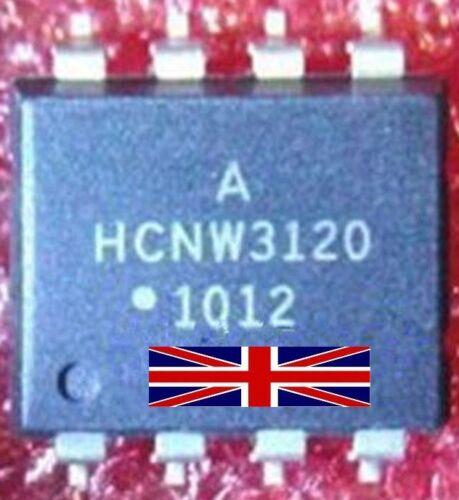 Circuito integrado HCNW 3120 DIP-8 Optoacoplador de vendedor del Reino Unido