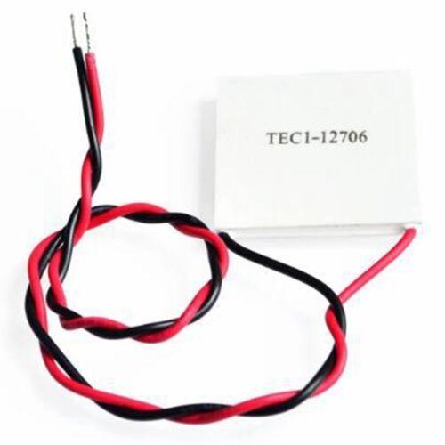 TEC1-12706 Heatsink Thermoelectric Cooler Cooling Peltier Plate Module 12V//60W m
