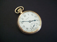 Scarce 16s Waltham 17 Jewel Grade 642 Adjusted 5 Positions Pocket watch