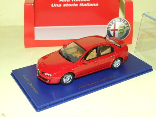 ALFA ROMEO 159 Rouge 2005 M4 MODELCARS