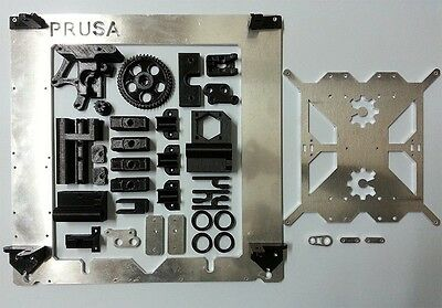 Kit printed parts for Prusa i3 + Alum. frame & extras
