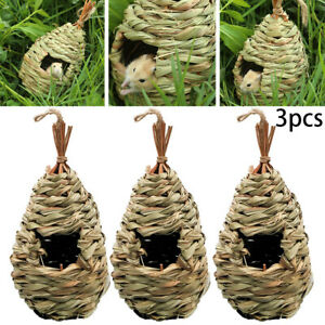 Safe-Hummingbird-House-Set-Of-3-Hand-Woven-Hummingbird-Houses-Nest-Small-Hanging