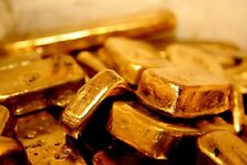 100 grams gold recovery gold bar Melted Drop Scrap plated Recovered cpu 2017 NEW