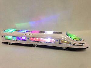 High Speed Train, EMU, Bump & Go Function, w/Flashing Light, Music, Sound, Toys