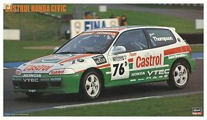 Hasegawa-20284-Castrol-Honda-Civic-1-24-scale-kit-New-Japan