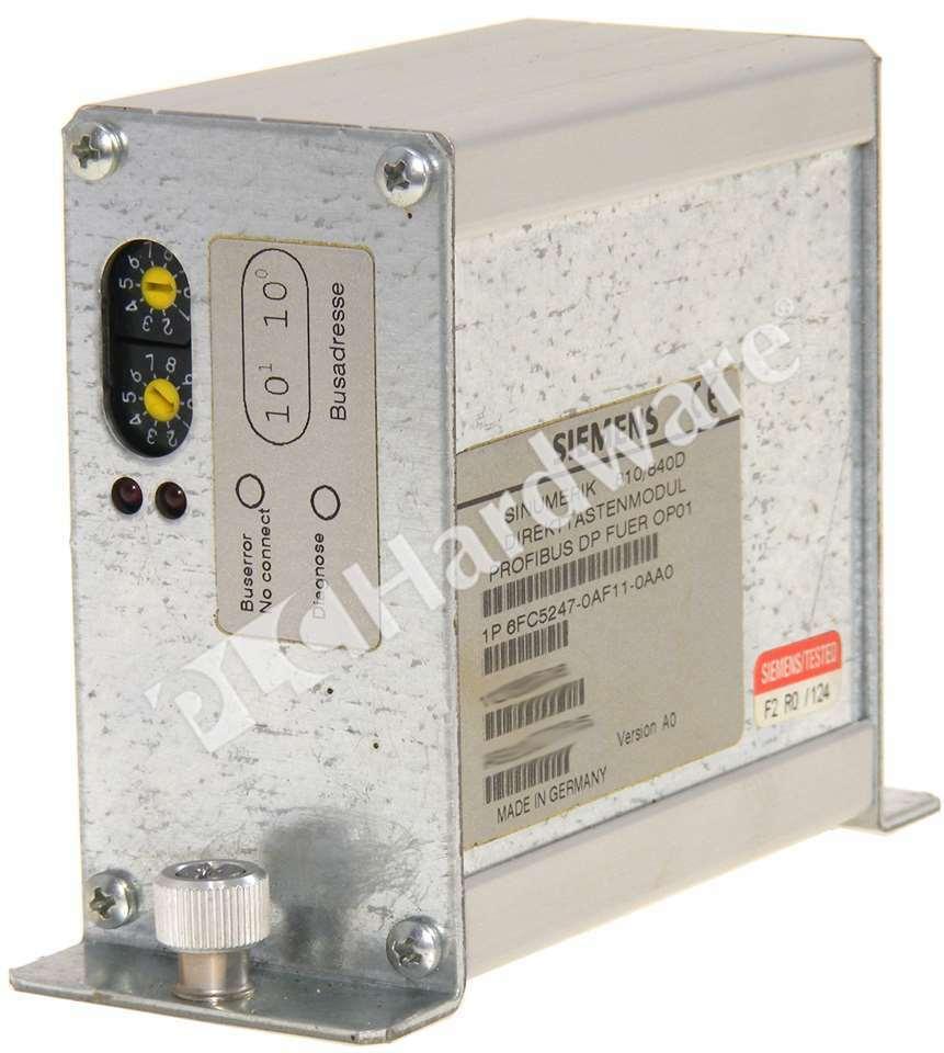 Siemens 6FC5247-0AF11-0AA0 6FC5 247-0AF11-0AA0 SINUMERIK 810D 840D Control Key