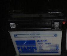 ACCUMULATORE BATTERIA 12V 6AH FIAMM 6K3P 12N5.5-4B