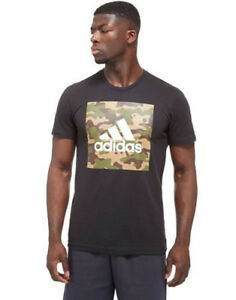 5b5be2abab3924 Details about Adidas Originals Camo Box Bape Logo Men's Men's T-Shirt New  CY8194