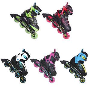 Stuf-Xoom-Junior-Roller-Blades-Kinder-Inliner-Rollerskates-Size-Adjustable-New