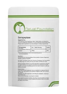 Serrapeptasi-80-000iu-compresse-ad-alta-resistenza-anti-infiammatorie-riduzione-del-dolore