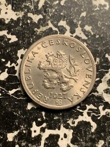 KM2 Czech Republic 1997 20 Haleru Uncirculated 10 Coin Lot