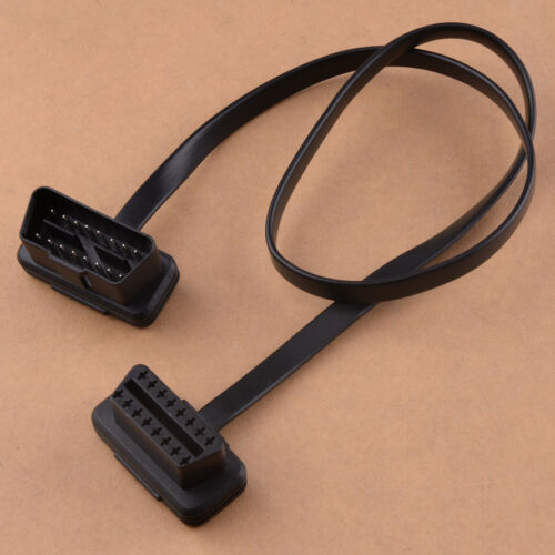 24.4 OBD2 16Pin Male to Female Extension Cable Diagnostic Adapter Cord