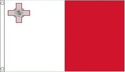 MALTA FLAG 5FT X 3FT