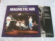 Max Webster - Magnetic Air (Capitol Records Progressive Rock Vinyl LP - 1979)