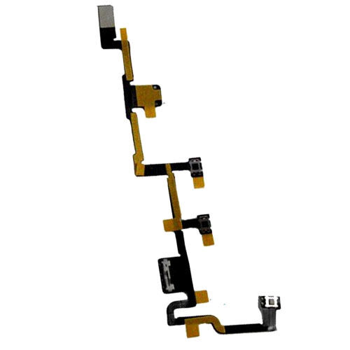 On / Off Power Volume Mute Lock Switch Button Flex Cable For iPad 2 A1395 A1396