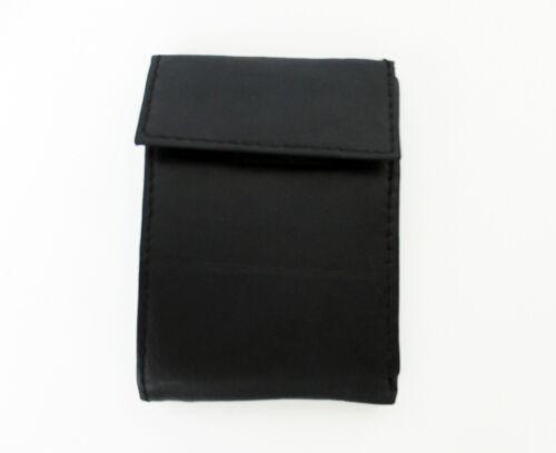 BI-FOLD MULTI-WINDOW PASS CASE MENS WALLET CARD POCKETS KEY POCKET CURRENCY-#540