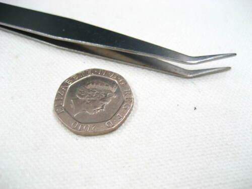 15pcs sewing Tweezer for Crafts Jewellery tool Straight Curved bent Tweezers