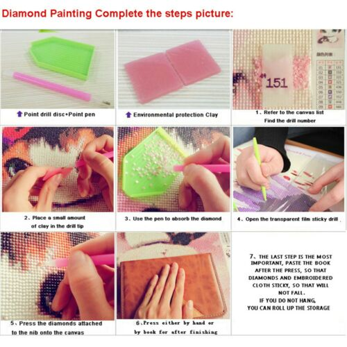 Fashion DIY 5D Diamond Painting Swimming Dog Tortoise Frog Full drill Art 4019Y