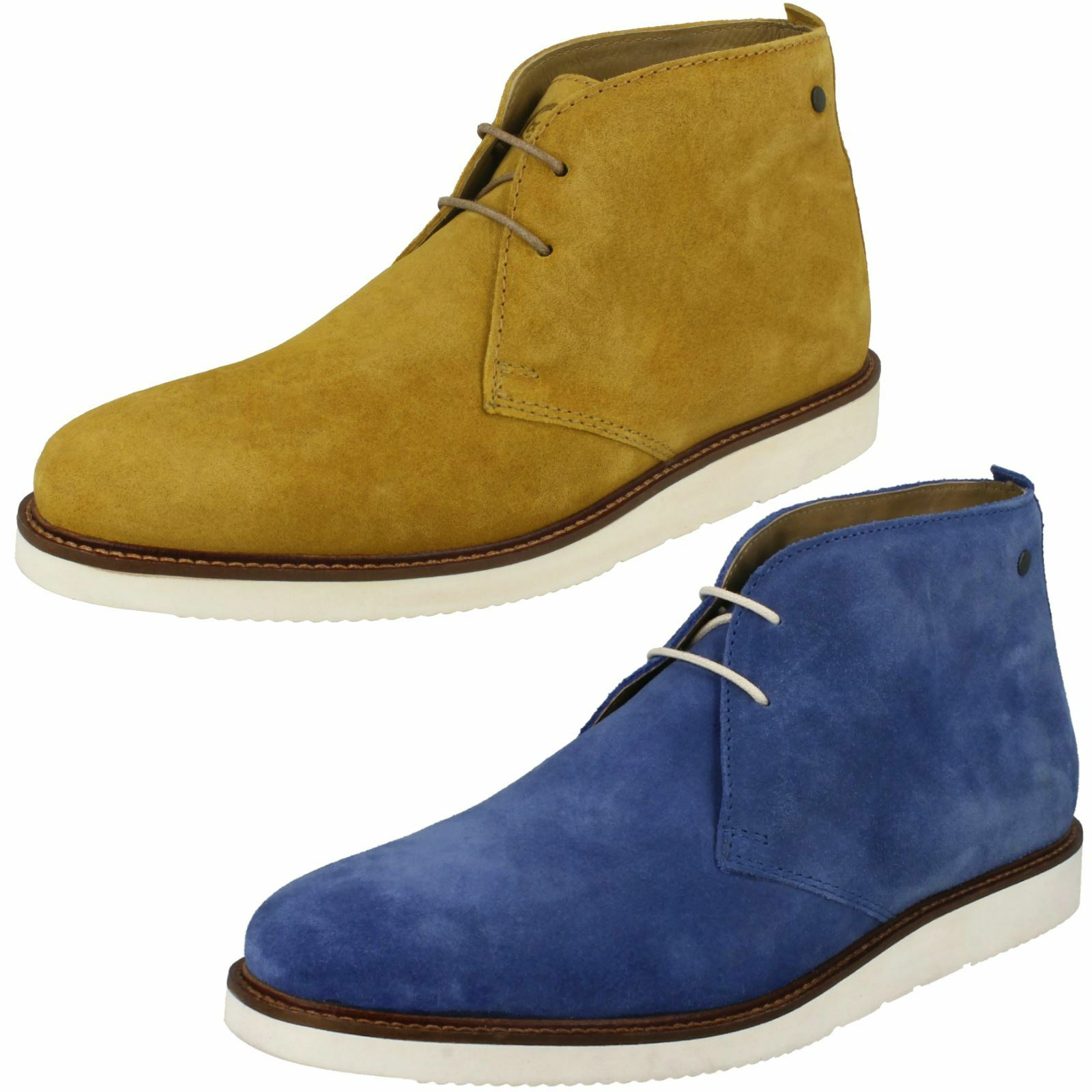 Base London Mens Chukka Stiefel - Cobden