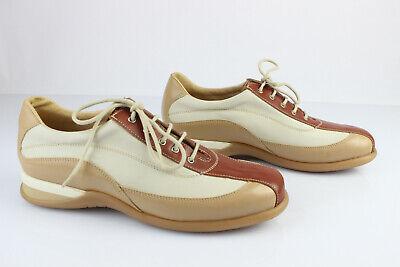 Women's Shoes Aspiring Karston Oxfordschuhe Schnürsenkel Leder Beige Und Braun T 41 Perfekter Zustand