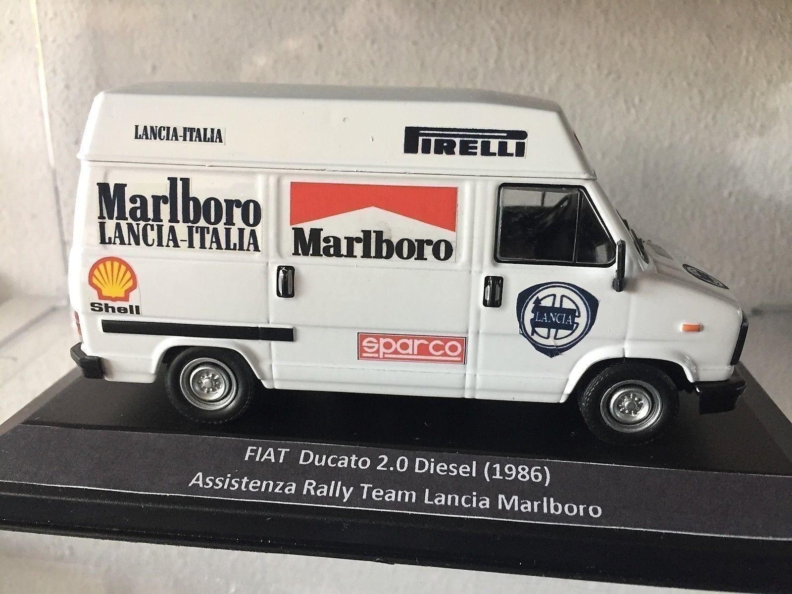 093 Fiat Ducato 2.0 Diesel 1986 Assistenza Rally Team Marlbor DIE CAST 1 43