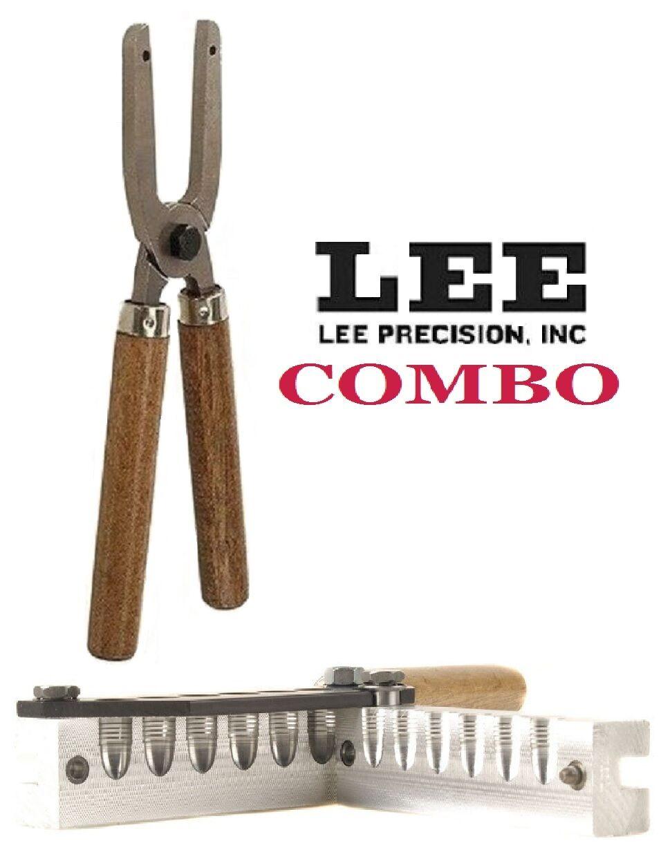 Lee COMBO 6-Cavity Bullet Mold + Mold Handles  45 ACP   45 Colt 90350+90005 New