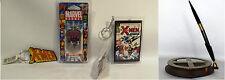 X-MEN : KEY RING, MAGNETO DOG TAG, PEN, MINIATURE COMIC KEY RING (TK)