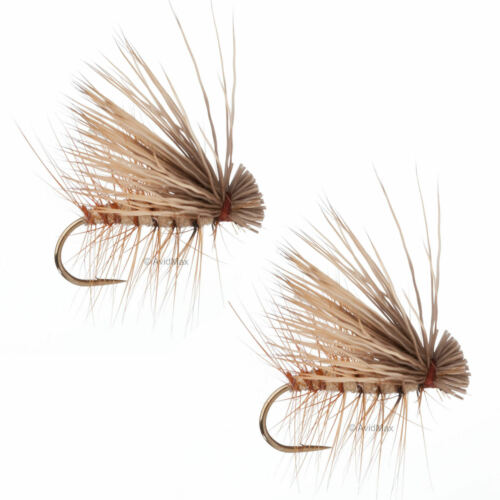 Umpqua Elk Hair Caddis Tan 2 Pack Dry Fly Fishing Flies