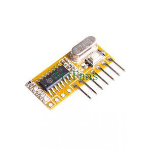 RXC6-433Mhz-Superheterodyne-Wireless-Receiver-PT2262-Code-Steady-for-Arduino-AVR