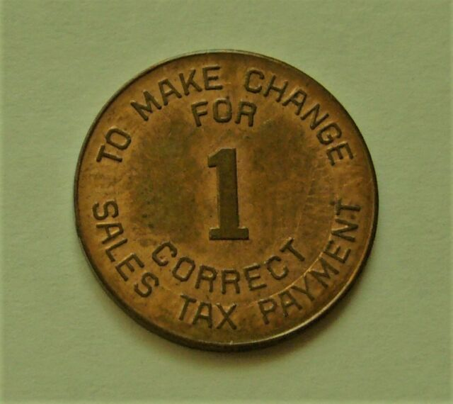 Arizona State Tax Commission Sales Token
