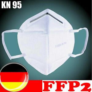Mundschutz Atemschutz FFP2 Maske Gesichtsmaske Filtermaske Schutzmaske KN95 Atem