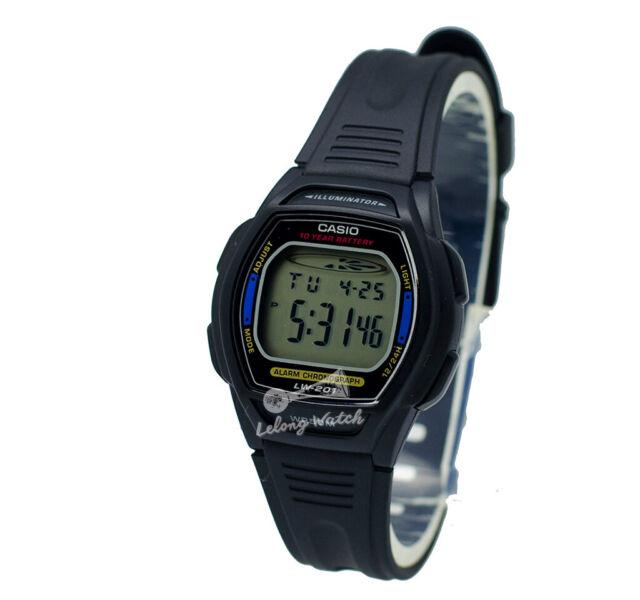 -Casio LW201-2A Ladies' Digital Watch Brand New & 100% Authentic