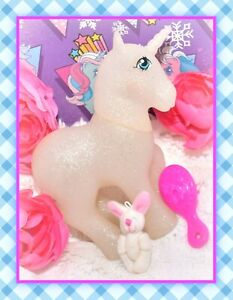 My-Little-Pony-MLP-Vtg-G1-Style-HQG1C-Unicorn-Genie-Sparkle-Glitter-Blank