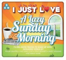 VARIOUS ARTISTS - I JUST LOVE A LAZY SUNDAY MORNING NEW CD