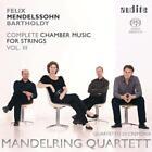 Complete Chamber Music For Strings Vol.3 von Mandelring Quartett,Quartetto Di Cremona (2013)