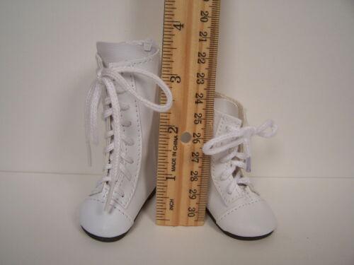 "CREAM Knee ZIPPER Boots Doll Shoes For 16/"" Kish Four Season Dolls Debs"