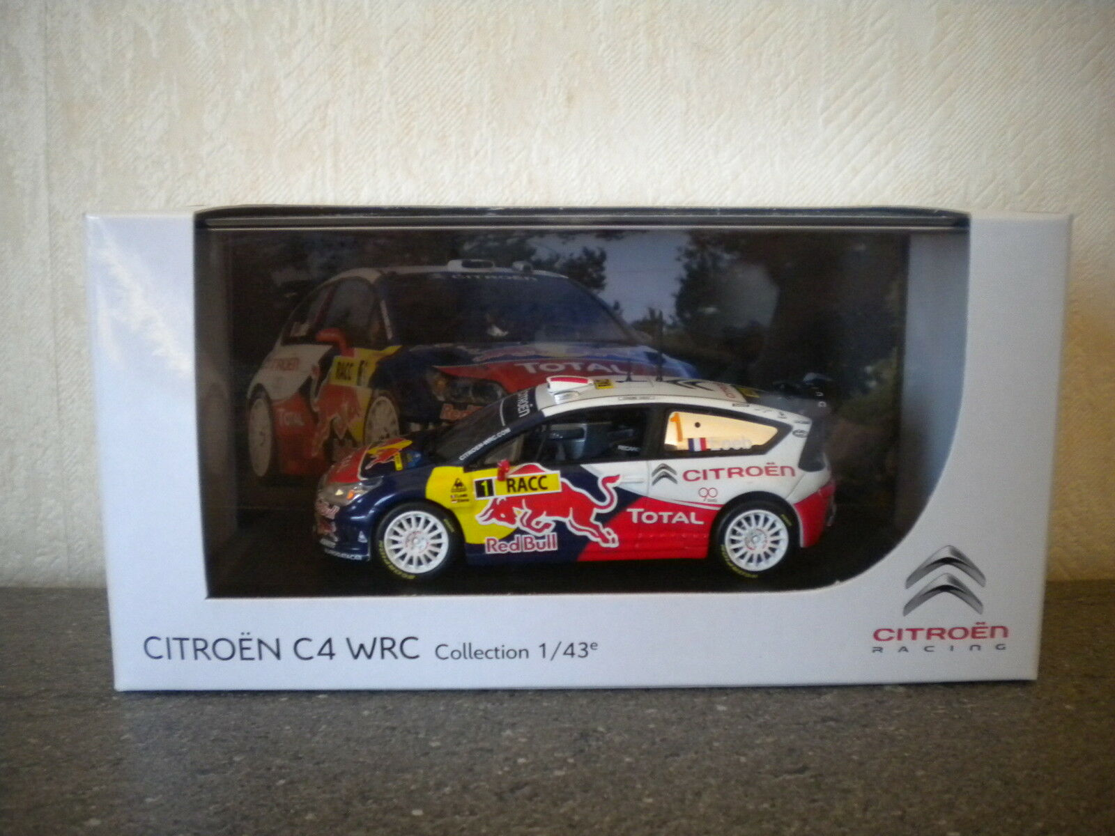 206 WRC CHAMPION DE FRANCE 2005  NOREV NEUVE 1 43°