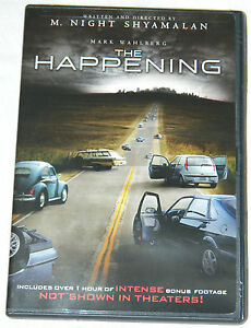 The Happening (DVD, 2009, Checkpoint; Sensormatic; Wide