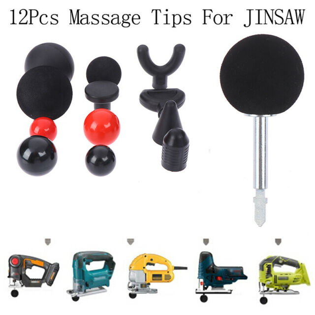 Percussion Deep Massage Tip Bit For Massager Bit Tip Set Body Muscle Massager VG