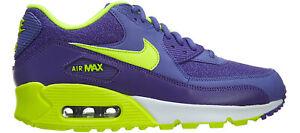 Details about Original Womens Nike Air Max 90 Trainers Purple Volt 325213 506