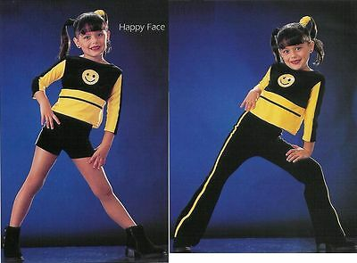 Clearance Be Happy Dance Costume Jazz Hip Hop Pants Version Tap Adult S /& Med.