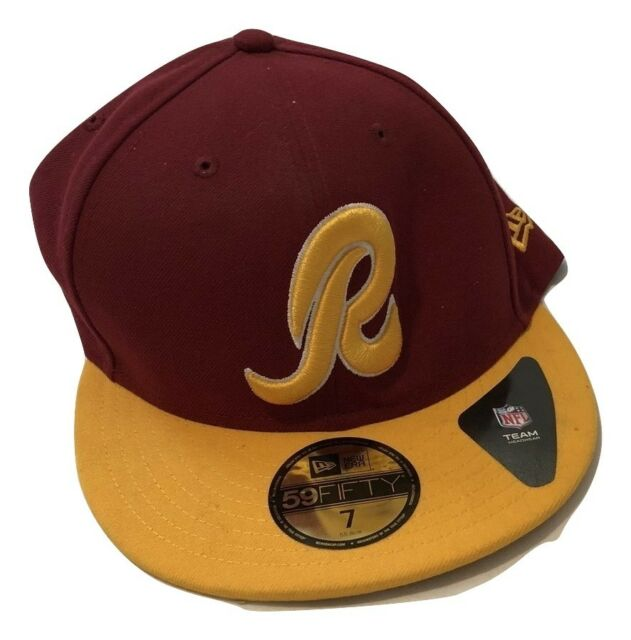 finest selection f022e 335d7 NWT New Washington Redskins New Era 59Fifty NFL Size 7 1 8 Fitted Hat Cap