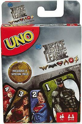 Justice League Mattel UNO Card Game Brand new sealed package Mattel Games
