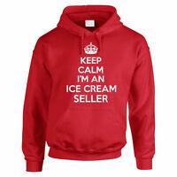 Keep Calm I'm An Ice Cream Seller - Dessert / Funny Themed Men's Hoody / Hoodies
