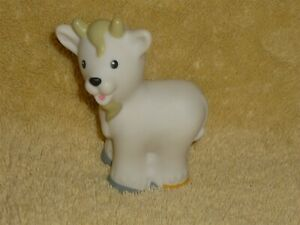 Fisher Price Little People White Farm Goat | eBay