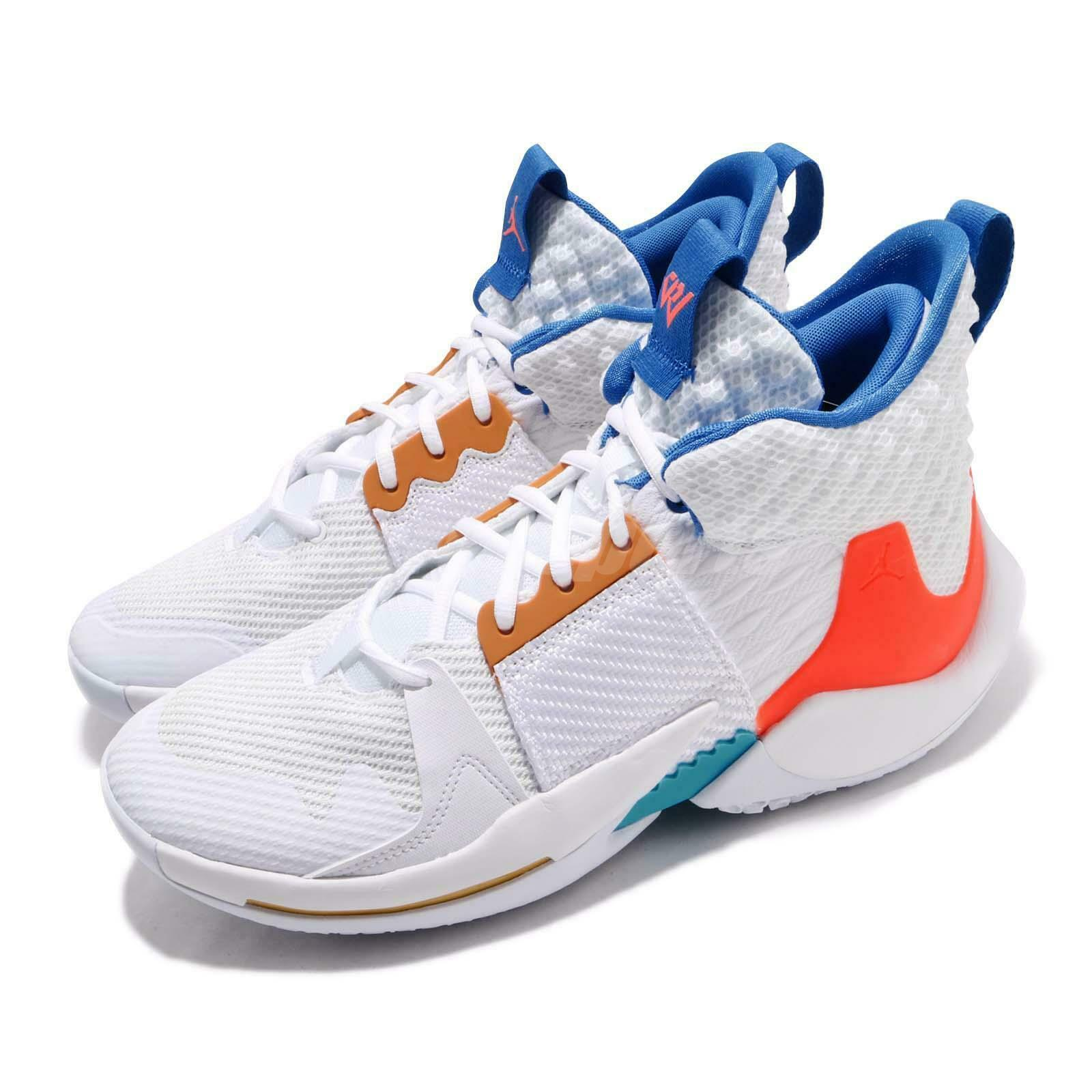 Nike Jordan Why Not Zer0.2 PF White OKC Russell Westbrook Mens shoes BV6352-100