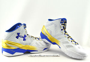 e1c578de846e Under Armour Curry 2 - SIZE 14 -NEW- 1259007-107 Two Rings Finals ...