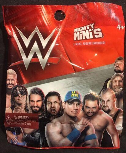 WWE Mighty Minis 1 Mini Figure New Mattel 2015