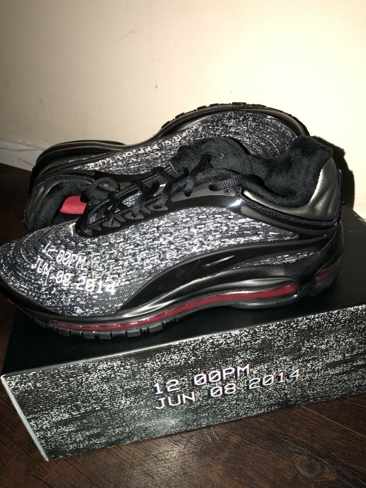 Nike X Skepta Air Max Deluxe Deluxe Deluxe SK Never Sleep On Tour UK Size 8 126163