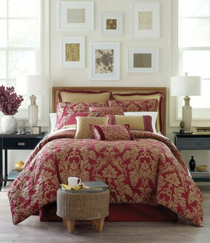 Waterford Linens Athena Ribbon-Trimmed European Pillow Sham  26 X 26 New